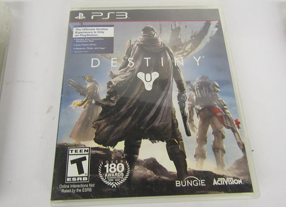 Destiny PS3 - Video Game - Used Good Condition