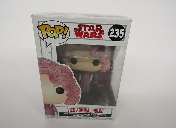 Funko Pop - 235 - Star Wars - Vice Admiral Holdo