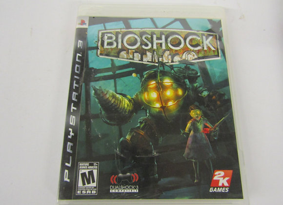 Bioshock - PS3 Video Game - Used - Good Condition
