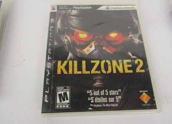 KillZone 2 - PS3 Video Game - Used - Good Condition