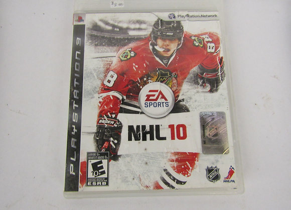NHL 10 - PS3 Video Game - Used Good Condition