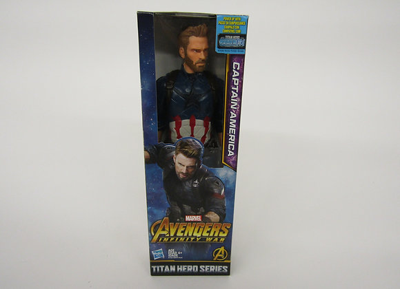 Avengers Action Figure - Captain America- Titan Hero Series