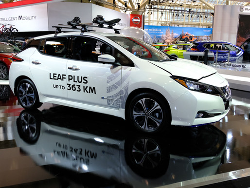 SPOTLIGHT WILL BE ON ELECTRIC VEHICLES THROUGH AUTOS-360 OTTAWA - VIRTUAL AUTO SHOW