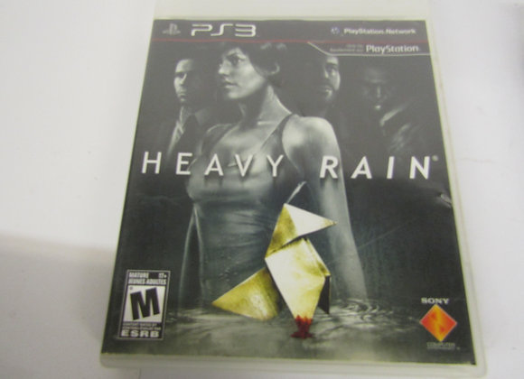 Heavy Rain - PS3 Video Game - Used Good Condition