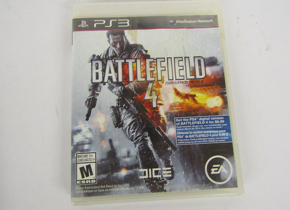 Battlefield 4 - PS3 - Video Game - Used good condition