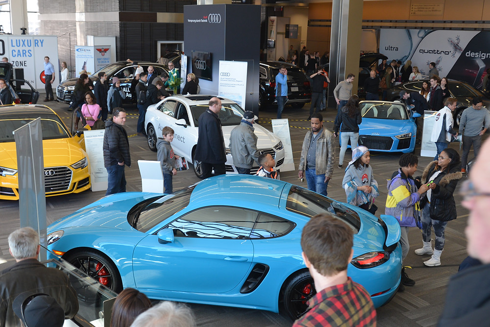 Over 50,000 visitors attend the auto show each year.