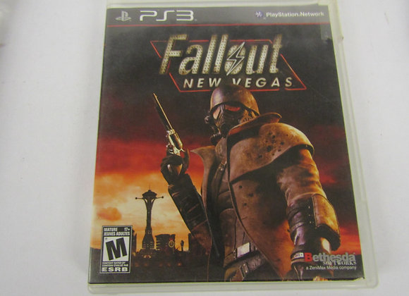 Fall Out New Vegas - PS3 Video Game - Used - Good Condition