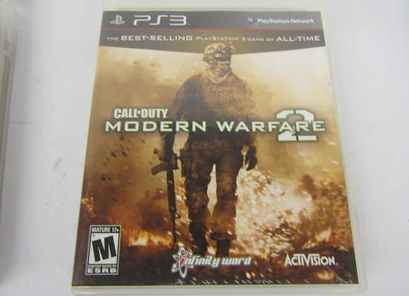 Modern Warfare 2 - PS3 Video Game - Used - Good Condition