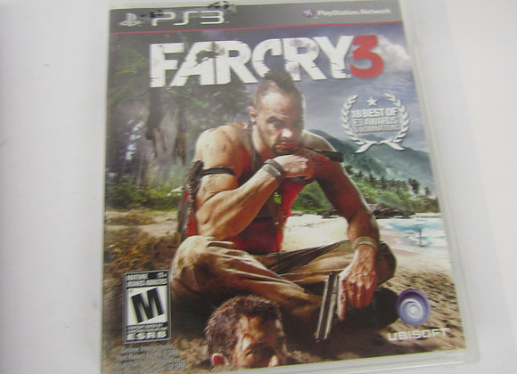 Far Cry 3 - PS3 Video Game - Used - Good Condition
