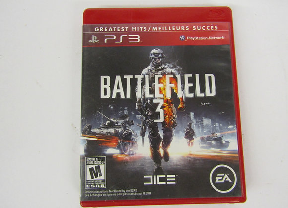 Battlefield 3 -PS3 - Video Game - used good condition