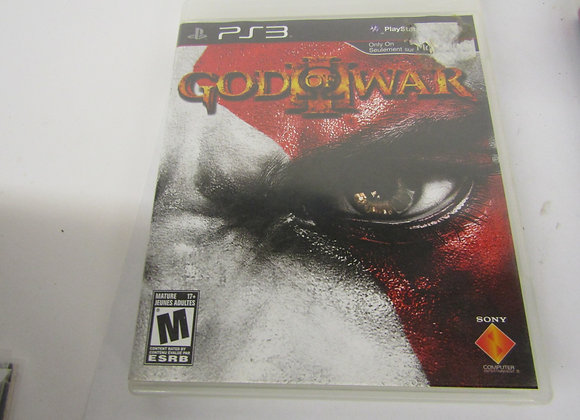 God Of War III - PS3 Video Game - Used - Good Condition