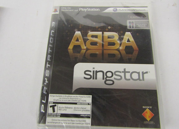 ABBA SingStar - PS3 Video Game - Used - Good Condition