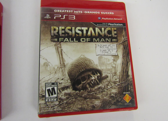 Resistance Fall Of Man - PS3 Video Game - Used - Good Condition