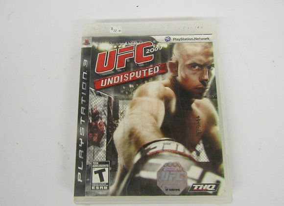 UFC Undisputed - PS3 - Video Game - Used - Good Condition