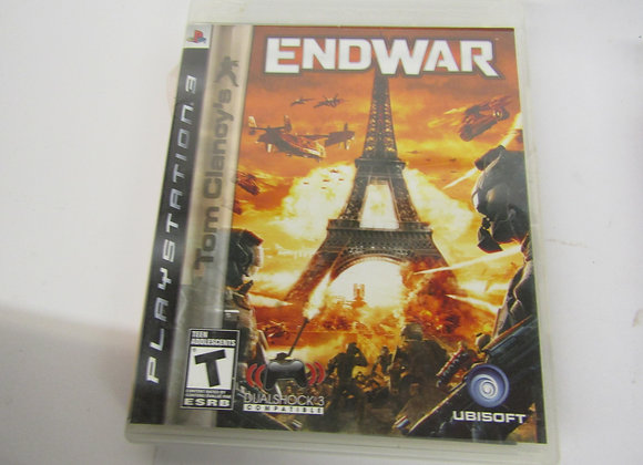 End War - PS3 Video Game - Used Good Condition