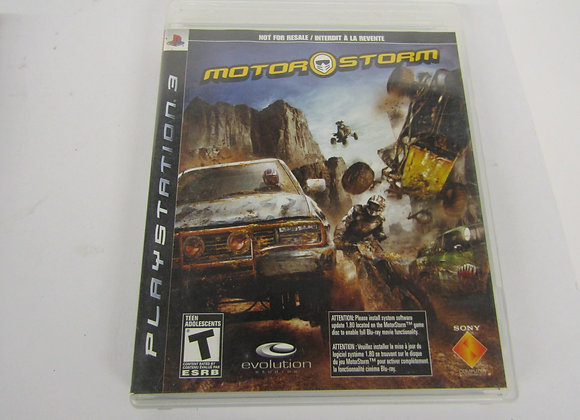 Motor Storm - PS3 Video Game - used - Good Condition