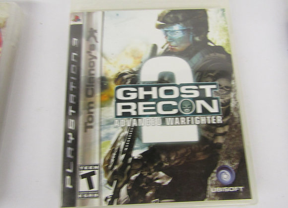 Ghost Recon 2 Advaced Warfighter - PS3 Video Game - Used Good Condition