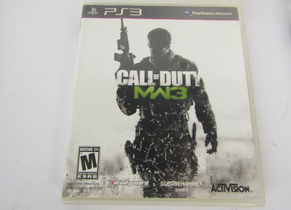 Call Of Duty MW3 - PS3 Video Game - Used - Good Condition