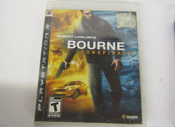 Bourne Conspiracy - PS3 Video Game - Used - Good Condition