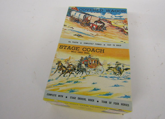 Borax Stage Coach Model Kit - Vintage