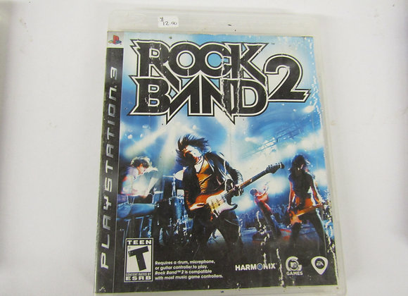 Rock Band 2 - PS3 Video Game - Used Good Condition