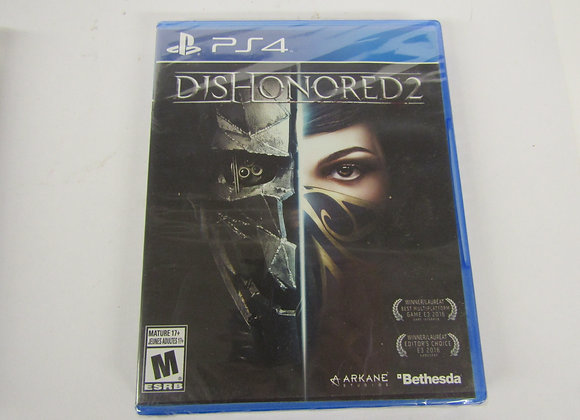 Dishonored 2 - PS4 - Video Game - Used Good Condition