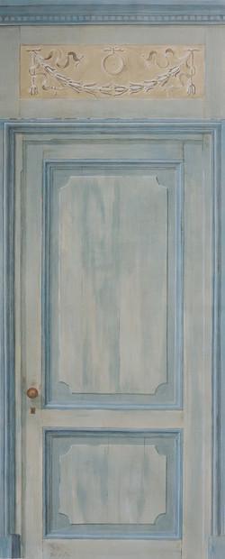 THE DOOR - Acrylic on canvas