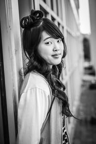 asian girl high school senior