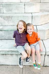 silly playful childhood siblings brothers family Mt. Vernon Baltimore Maryland
