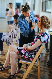 make up artist hair style up do models