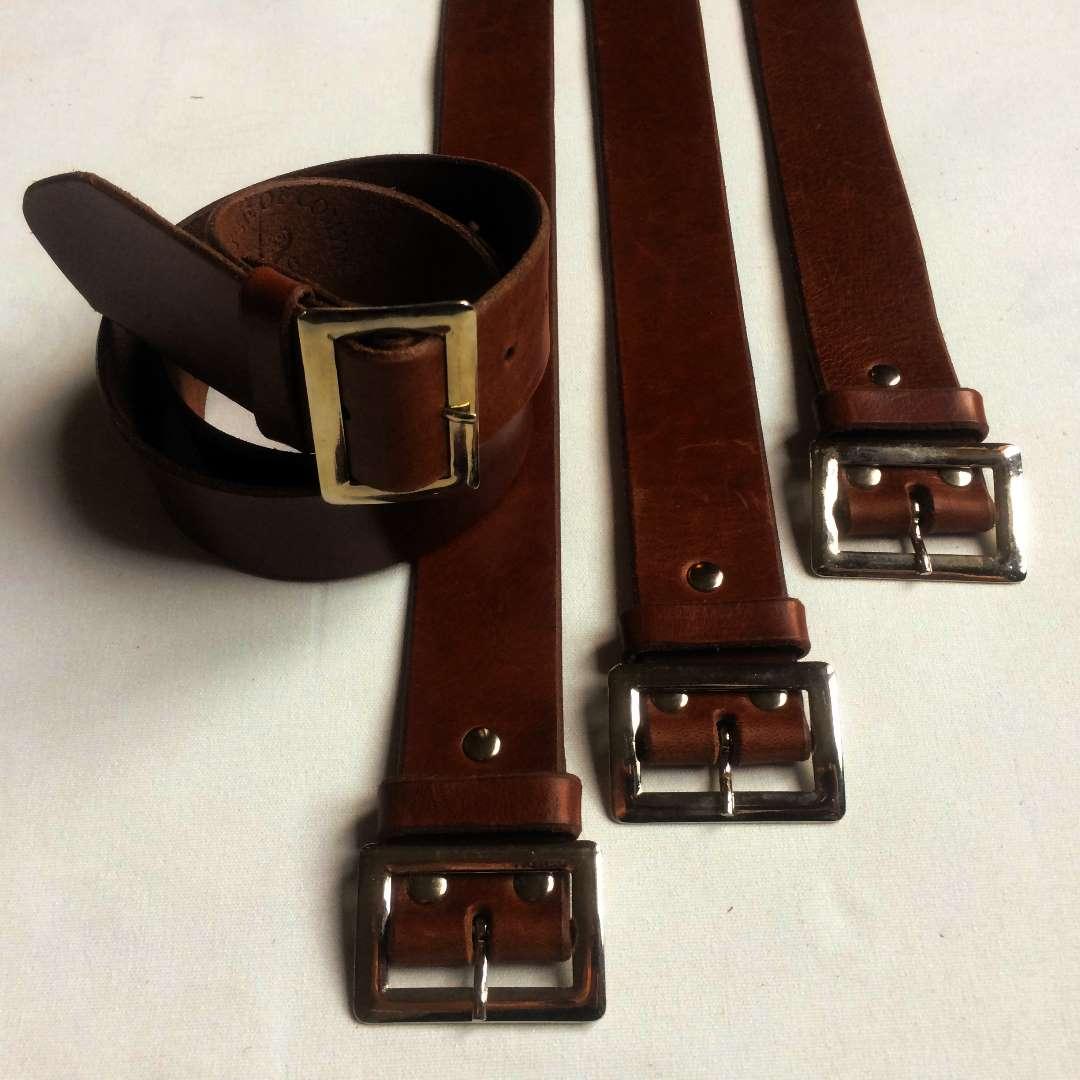Classic leather belts