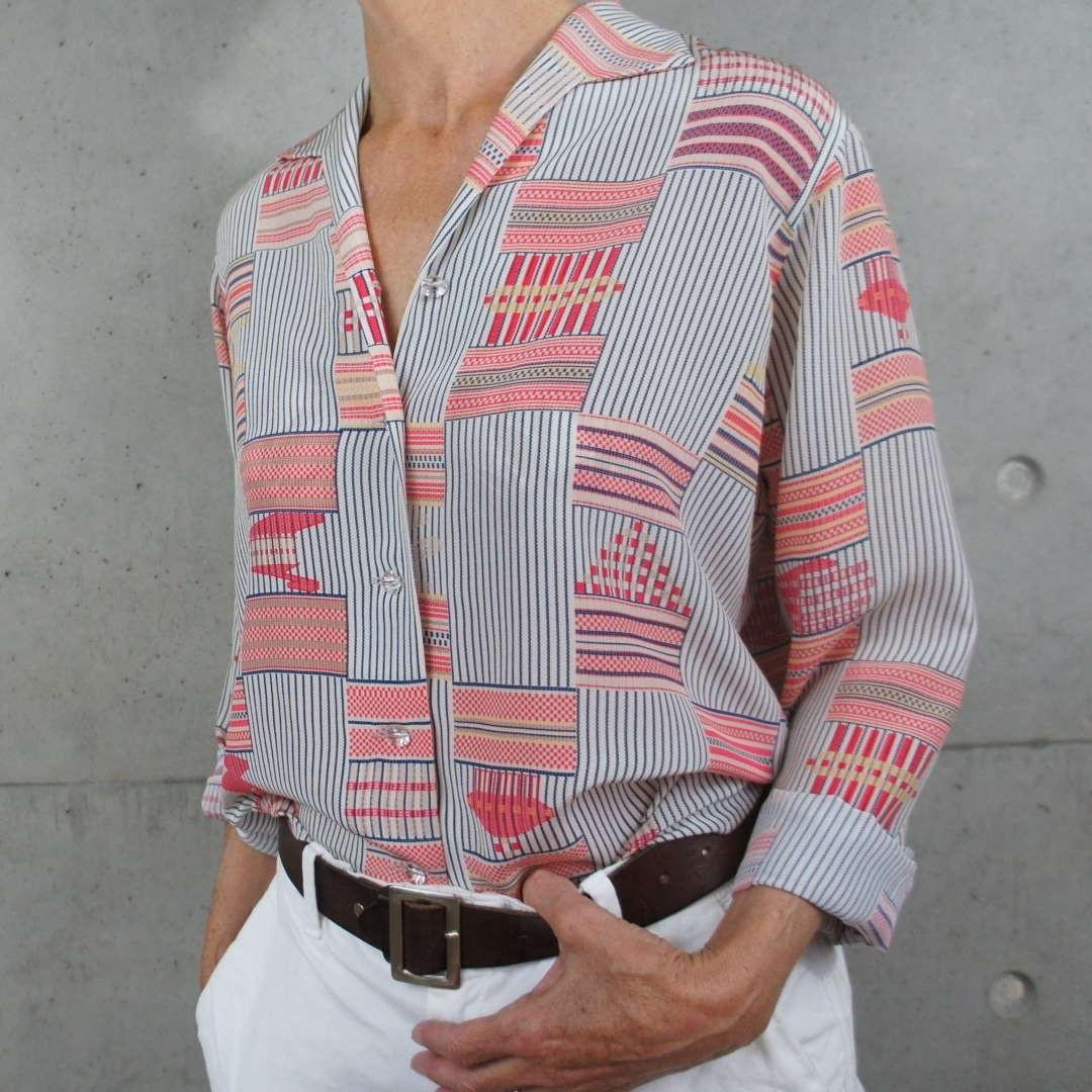 Coral Beach blouse