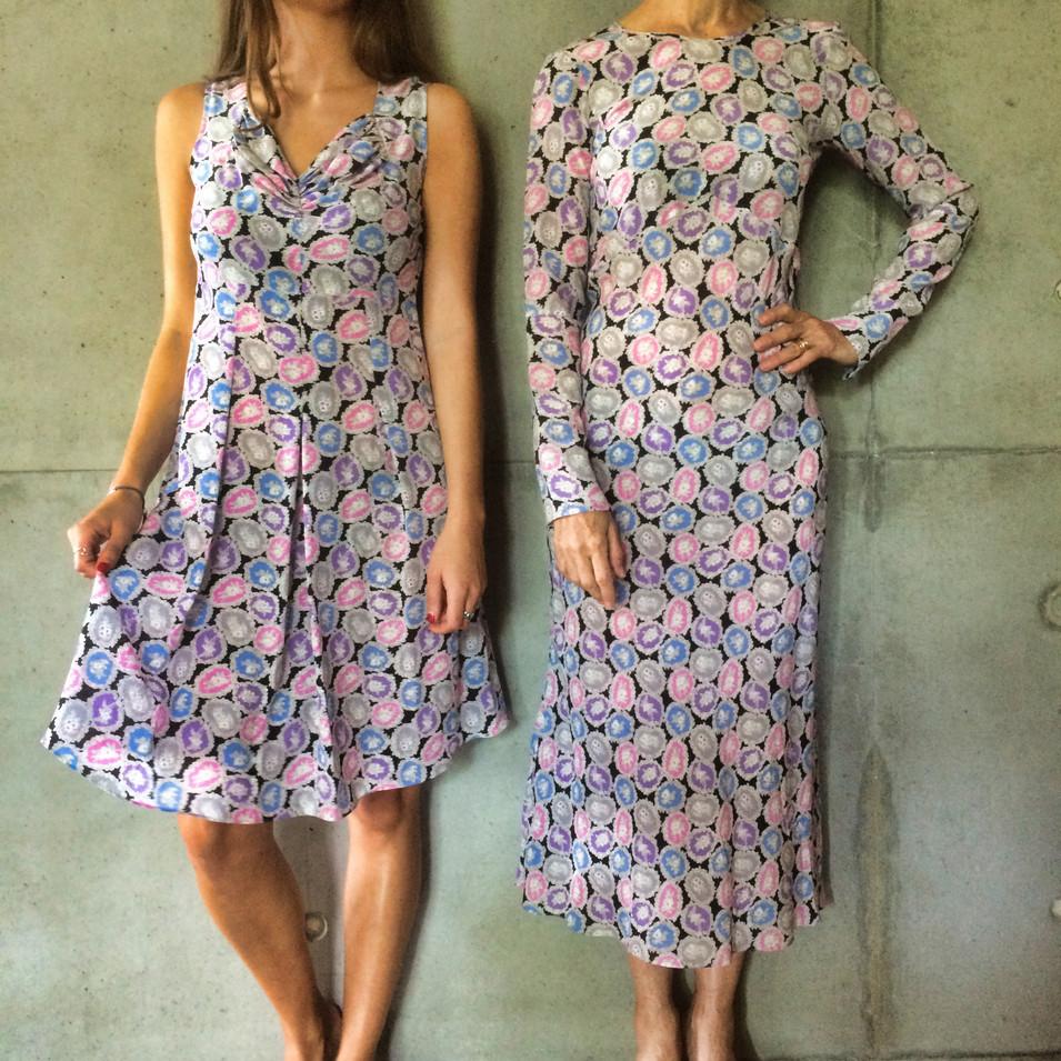Sunny sweetheart & bias dress