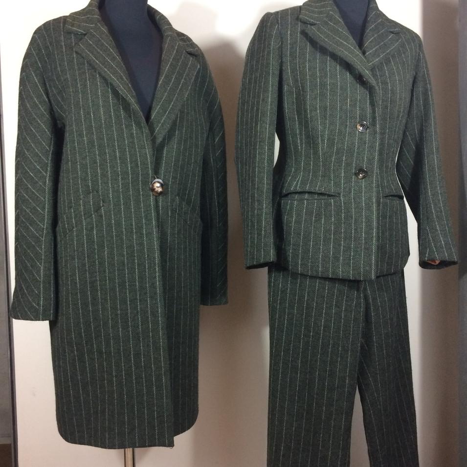 Clutch Coat and suit