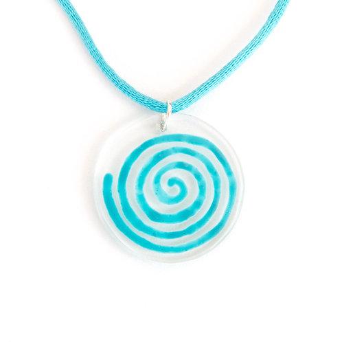 Turquoise SPIRAL Pendant