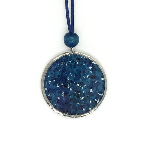 DROPS Navy blue pendant