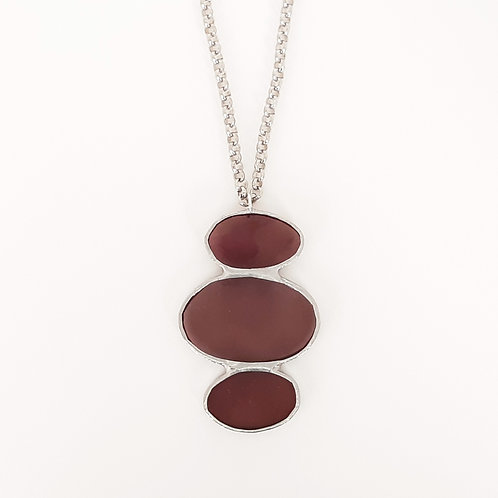 O3045 necklace MAUVE
