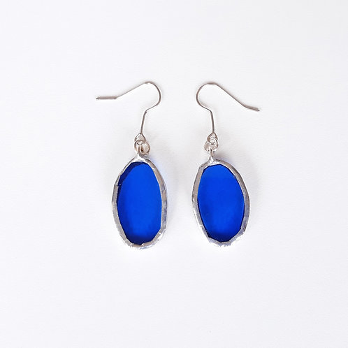 O22 earrings BLUE