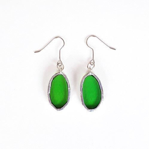 O22 earrings GREEN