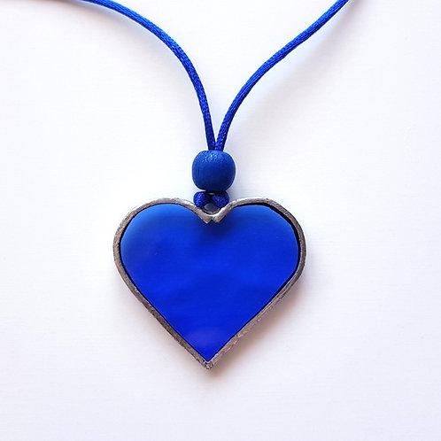 Colgante CORAZÓN Azul