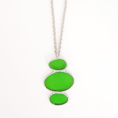 O3045 necklace GREEN
