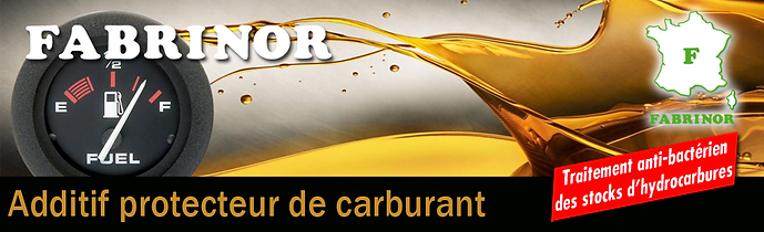 FABRINOR Additif carburant anti-bactérien