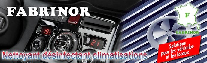 FABRINOR Désinfectant climatisation