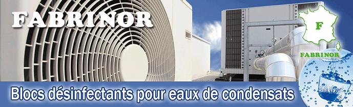 FABRINOR Blocs désinfectants climatisation