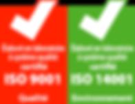 FABRINOR - Certification ISO 9001 & 14001