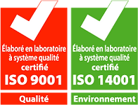 FABRINOR - Certification ISO 9001 & 14001