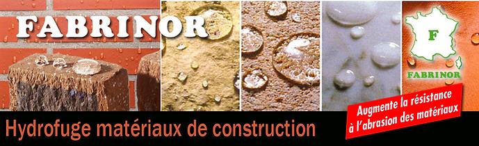 FABRINOR Hydrofuge matériaux de construction
