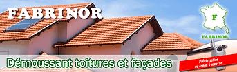 FABRINOR - Démoussant toitures et façades