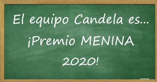 Equipo Candela Premio MENINA 2020