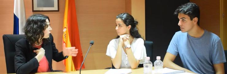 Gloria Poyatos, magistrada TSJC. Parte I